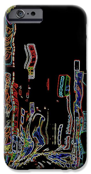 Losing Equilibrium - Abstract Art IPhone Case by Carol Groenen