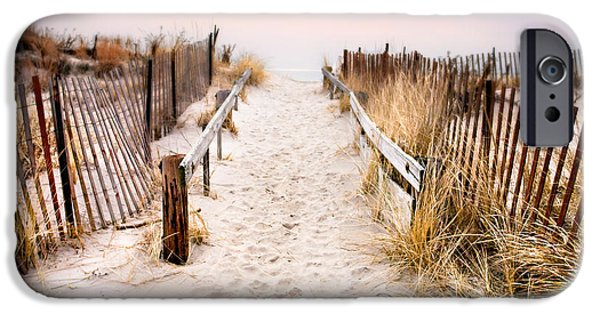 Love Is Everything - Footprints In The Sand IPhone Case by Gary Heller