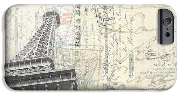 Love Letter From Paris Wide IPhone Case by Edward Fielding
