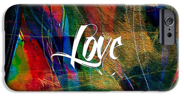 Love Wall Art IPhone 6s Case by Marvin Blaine