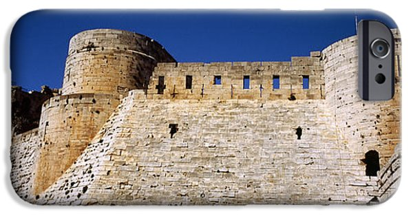 Low Angle View Of A Castle, Crac Des IPhone Case by Panoramic Images