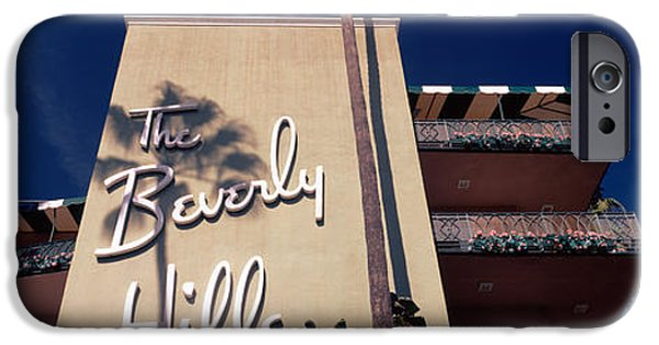 Low Angle View Of A Hotel, Beverly IPhone 6s Case by Panoramic Images