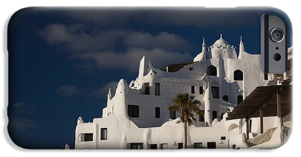 Low Angle View Of A Hotel, Casapueblo IPhone Case by Panoramic Images