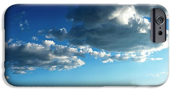 Low Angle View Of Cloudy Sky, Taos IPhone Case by Panoramic Images