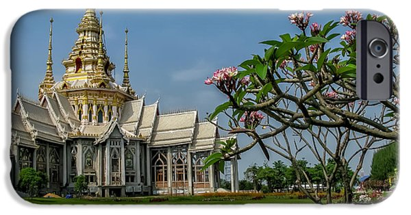 Luang Phor Toh Temple IPhone Case by Adrian Evans