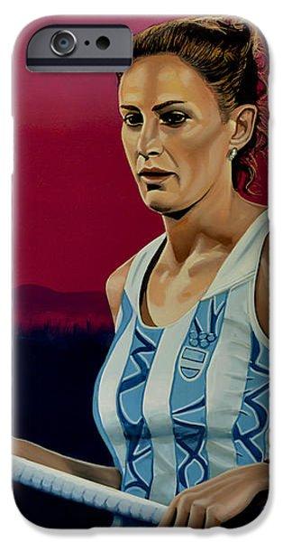 Luciana Aymar IPhone Case by Paul Meijering