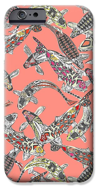 Lucky Koi Coral IPhone 6s Case by Sharon Turner