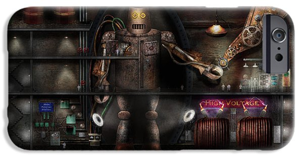 Mad Scientist - The Enforcer IPhone 6s Case by Mike Savad