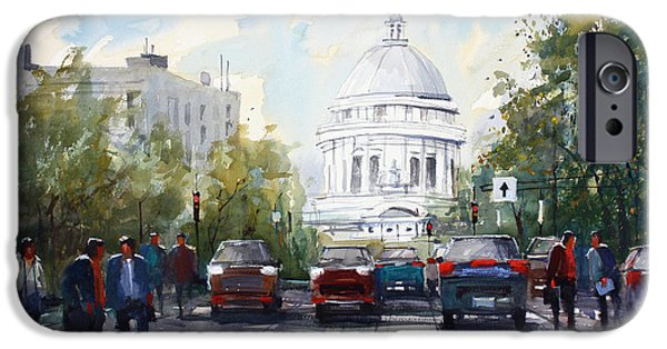 Madison - Capitol IPhone 6s Case by Ryan Radke