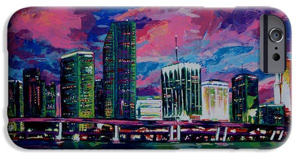 Magic City IPhone Case by Maria Arango
