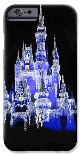 Magic Kingdom IPhone Case by Art Spectrum