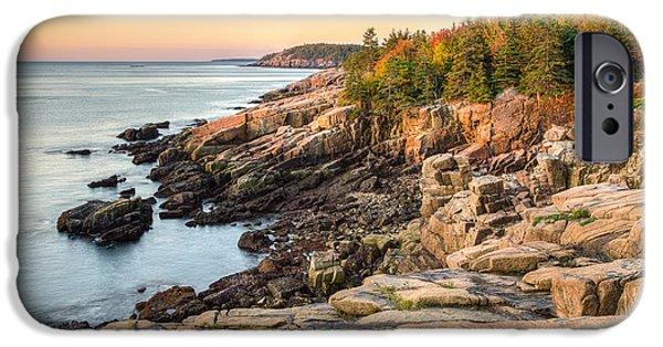 Maine Coastal Photograph - Acadia National Park IPhone Case by Bill Swindaman