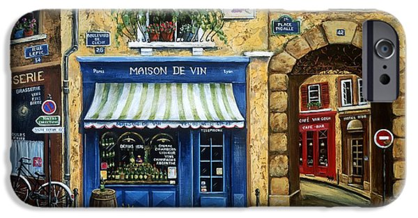 Maison De Vin IPhone Case by Marilyn Dunlap