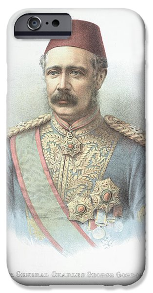 Major General Charles Gordon IPhone Case by British Library