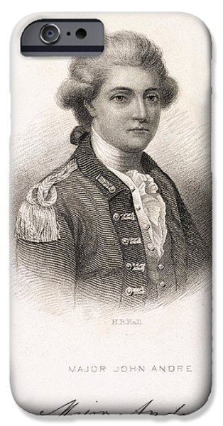 Major John Andre IPhone Case by British Library