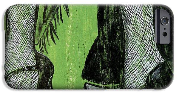 Mambo IPhone Case by Debbie DeWitt