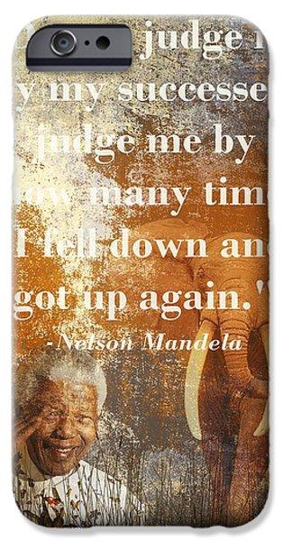 Mandela 2 IPhone Case by Sharon Lisa Clarke