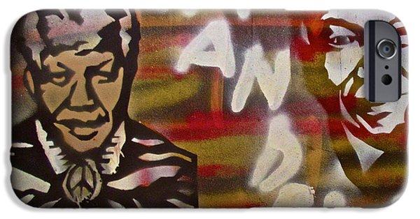 Mandela IPhone Case by Tony B Conscious