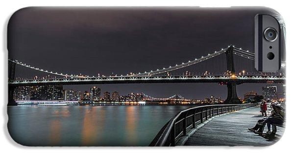 Manhattan Bridge - New York - Usa 2 IPhone 6s Case by Larry Marshall