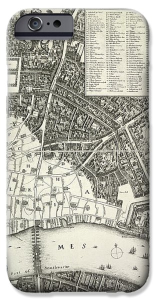 Map Of London IPhone 6s Case by British Library