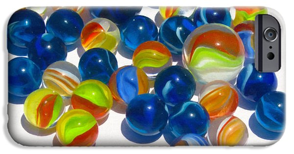 Marbles IPhone Case by Dale Jackson