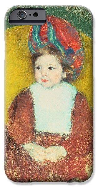 Margot IPhone Case by Mary Stevenson Cassatt