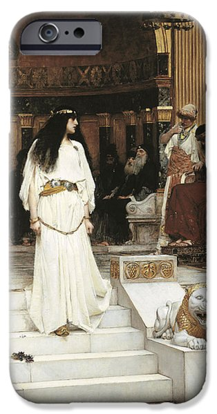Mariamne, 1887 Oil On Canvas IPhone Case by John William Waterhouse