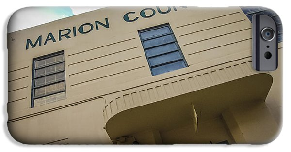 Marion County Jail IPhone Case by Jon Stephenson