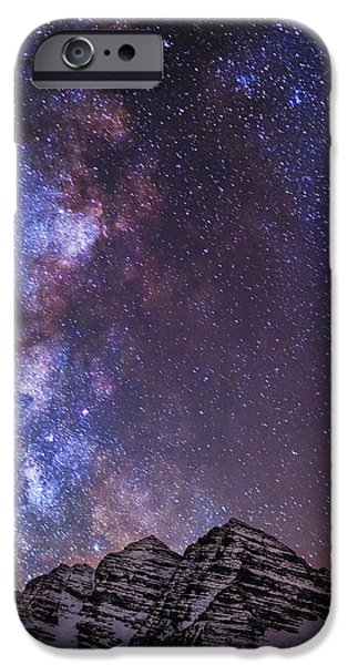 Maroon Magic IPhone Case by Darren  White