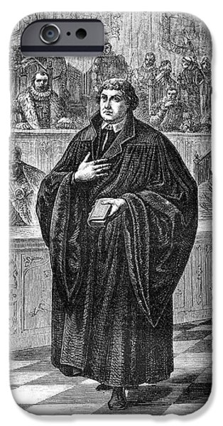 Martin Luther IPhone Case by Collection Abecasis
