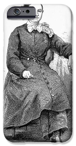 Mary Walker IPhone Case by Bildagentur-online/tschanz