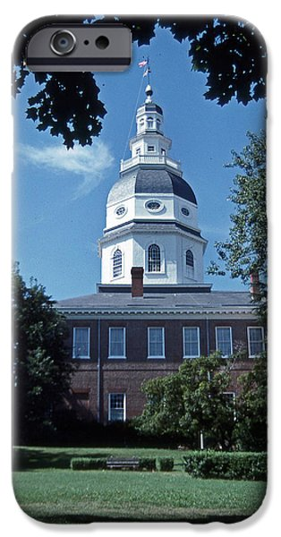 Maryland State House IPhone Case by Skip Willits