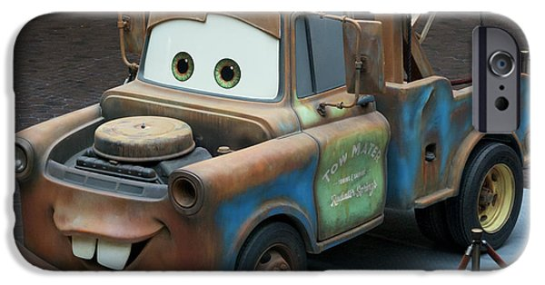 Mater IPhone Case by Thomas Woolworth
