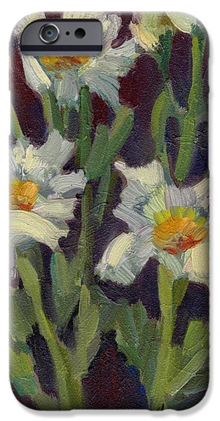 Matilija Poppies IPhone Case by Diane McClary