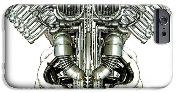 Mechanical Figure IPhone Case by Diuno Ashlee