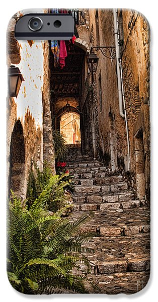 Medieval Saint Paul De Vence 2 IPhone Case by David Smith