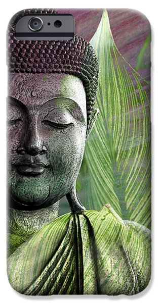 Meditation Vegetation IPhone Case by Christopher Beikmann