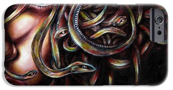 Medusa No. Two IPhone Case by Hiroko Sakai