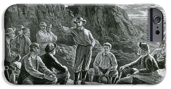 Meeting Of The Molly Maguires, 1874 IPhone Case by Photo Researchers