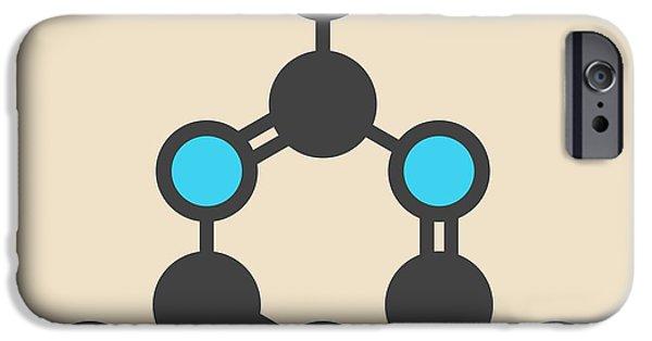 Melamine Molecule IPhone Case by Molekuul
