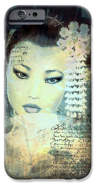 Memoirs IPhone Case by Shanina Conway