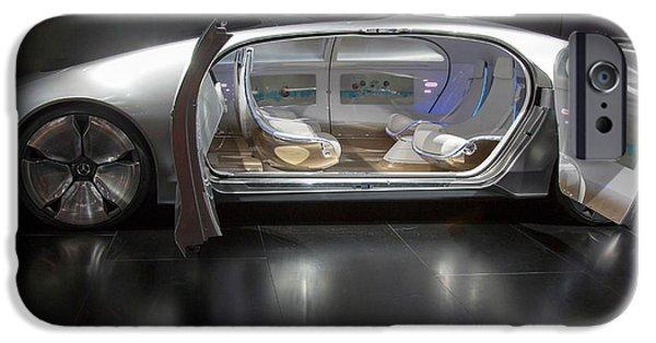 Mercedes-benz F015 Autonomous Car IPhone Case by Jim West