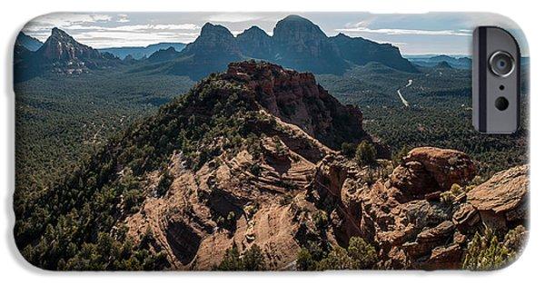 Mescal Mountain 04-063p IPhone Case by Scott McAllister