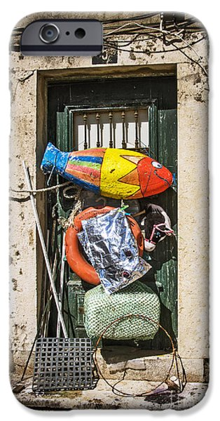Messy Door IPhone Case by Carlos Caetano