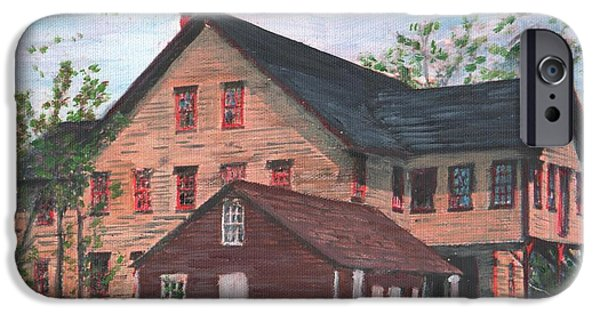 Metcalfs Mill IPhone Case by Cliff Wilson
