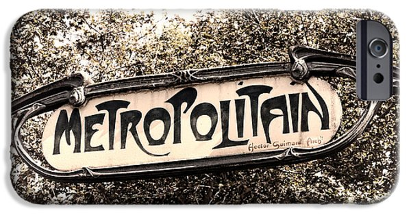 Metropolitain IPhone Case by Olivier Le Queinec