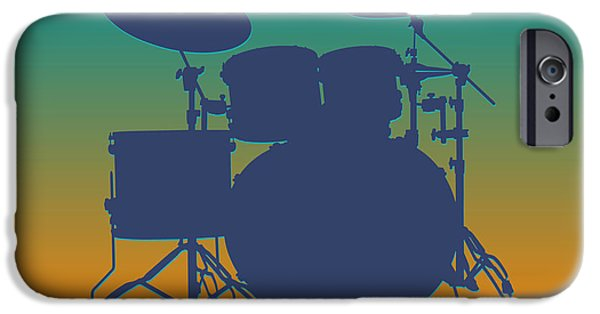 Miami Dolphins Drum Set IPhone 6s Case by Joe Hamilton