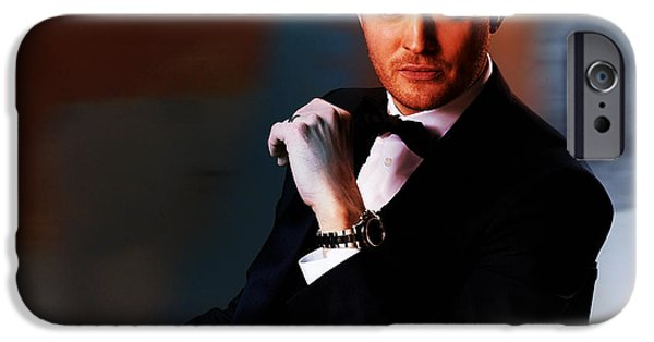 Michael Buble IPhone Case by Marvin Blaine