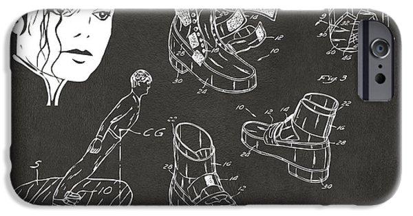 Michael Jackson Anti-gravity Shoe Patent Artwork Vintage IPhone 6s Case by Nikki Marie Smith