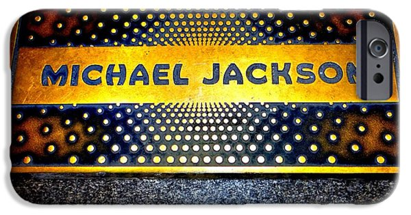 Michael Jackson Apollo Walk Of Fame IPhone 6s Case by Ed Weidman